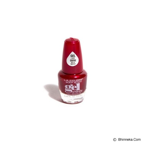 L.A. GIRL LA Colors Gel Like Polish - Red Carpet Ready - Cat Kuku