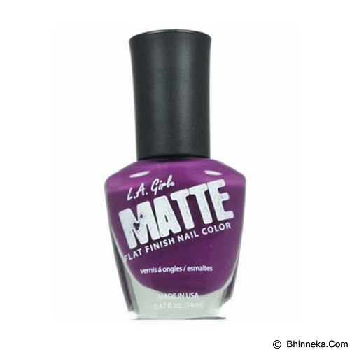 L.A. GIRL Matte Plum (Merchant) - Cat Kuku