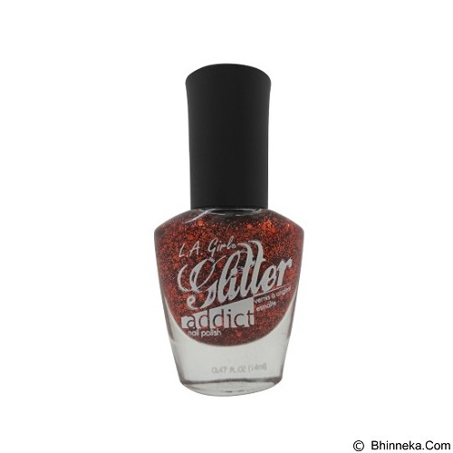 L.A. GIRL Nail Polish Glitter Addict Flamboyant (Merchant) - Cat Kuku