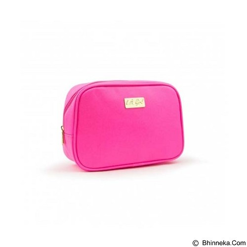 L.A. GIRL Makeup Bag Large - Pink (Merchant) - Tas Kosmetik / Make Up Bag
