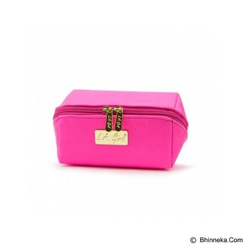 L.A. GIRL Makeup Bag Small - Pink (Merchant) - Tas Kosmetik / Make Up Bag