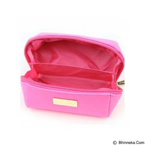 L.A. GIRL Makeup Bag Small - Pink (Merchant) - Tas Kosmetik / Make Up Bag