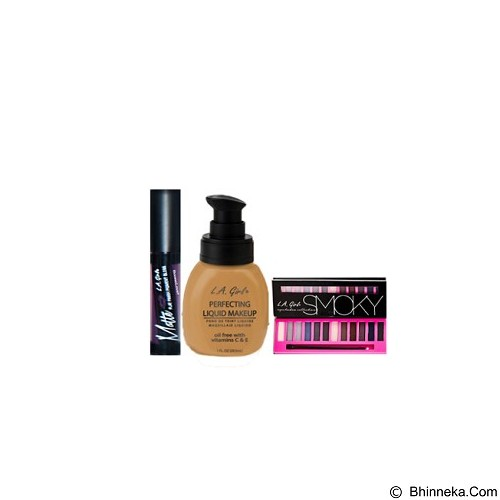 L.A. GIRL Special Package No.2C Eyeshadow Smoky (Merchant) - Lipstick