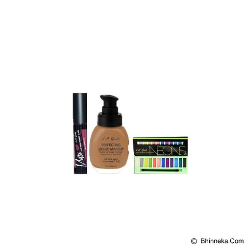 L.A. GIRL Special Package No.2H Eyeshadow Neons (Merchant) - Lipstick