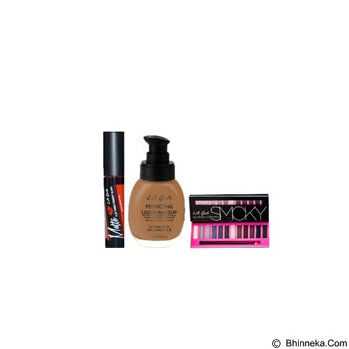 L.A. GIRL Special Package No.2K Eyeshadow Smoky (Merchant) - Lipstick