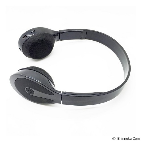 LACARLA Bluetooth Headset Stereo [BH-506] - Black (Merchant) - Headset Bluetooth