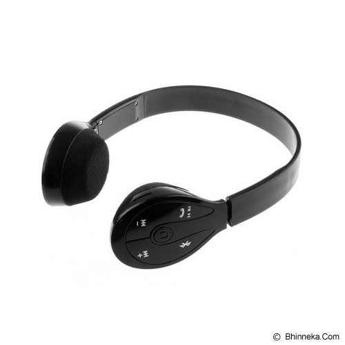 LACARLA Bluetooth Headset Stereo [BH-506] - Black (Merchant) - Headset Bluetooth