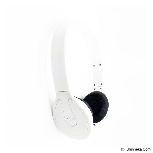 LACARLA Bluetooth Headset Stereo [BH-506] - White - Headset Bluetooth