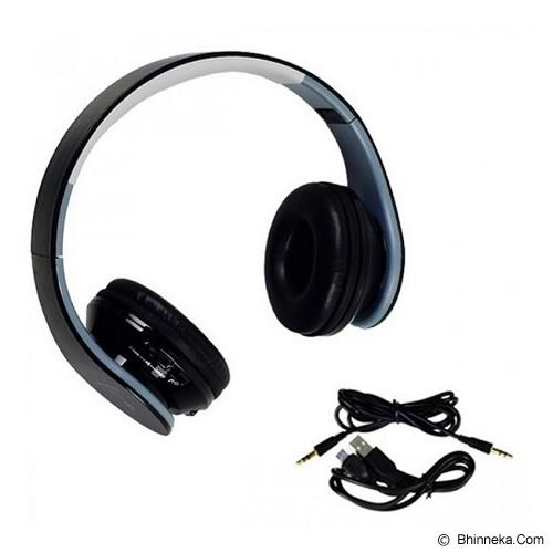 LACARLA Bluetooth Headset Stereo [TM-011] - Black - Headset Bluetooth