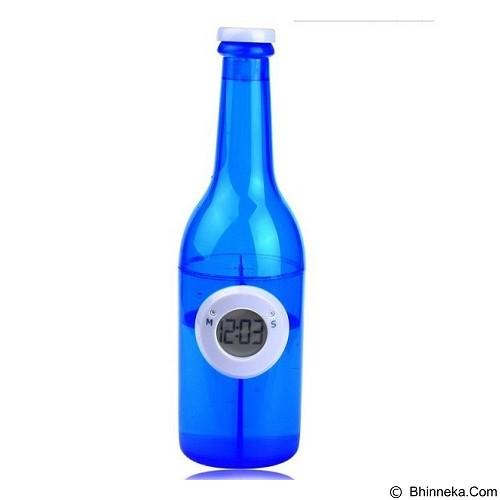 LACARLA Digital Water Power Clock Beer Bottle [ST-1002-J] - BLue - Jam Meja