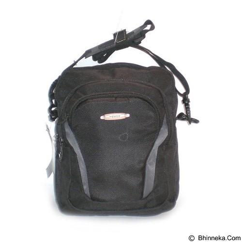 LACARLA Exist Tas Gaul Tablet [4-8568] - Black Gray - Shoulder Bag Pria