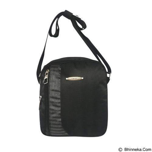 LACARLA Exist Tas Gaul Tablet [4-8606] - Black Gray - Shoulder Bag Pria