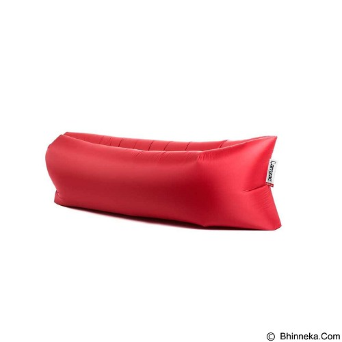 LACARLA Kursi Angin Malas Fatboy Lamzac Laybag Bean Bag - Red (Merchant) - Bantal Duduk / Bean Bag