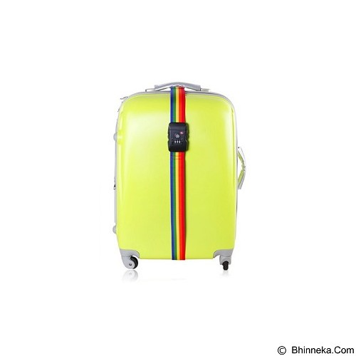 LACARLA Luggage Strap Belt 3 Digit PIN With TSA Lock - Name Tag Tas / Luggage Tag