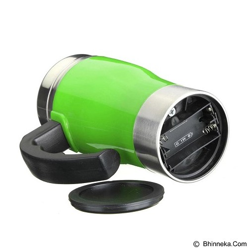 LACARLA New Model Self Stirring Mug 350ml - Green - Gelas