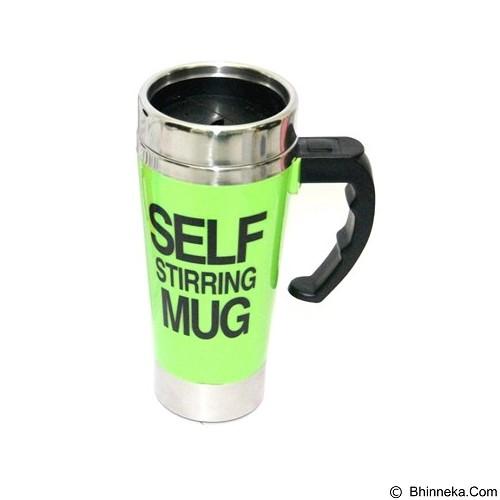 LACARLA New Self Stirring Mug 500ml Slim Model - Green - Gelas