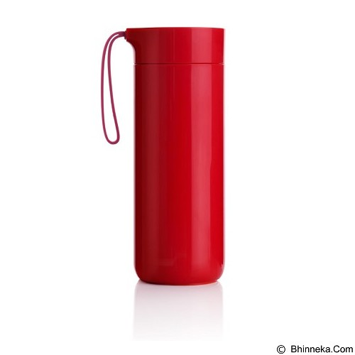 LACARLA Original ArtiArt Butterfly Thermal Suction Bottle 400 ml [DRIN032] - Red (Merchant) - Botol Minum