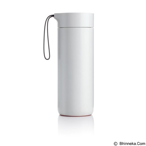 LACARLA Original ArtiArt Butterfly Thermal Suction Bottle 400 ml [DRIN032] - White (Merchant) - Botol Minum