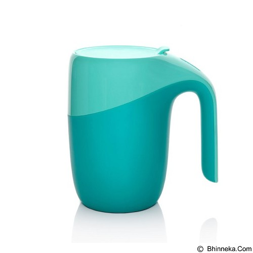 LACARLA Original ArtiArt Elephant Thermal Suction Mug 400ml [DRIN033] - Green (Merchant) - Gelas