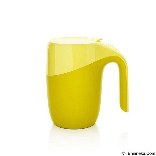 LACARLA Original ArtiArt Elephant Thermal Suction Mug 400ml [DRIN033] - Yellow (Merchant) - Gelas
