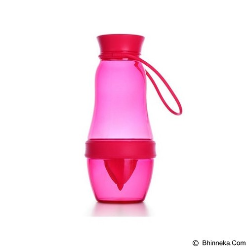 LACARLA Original ArtiArt Health Care Drinking Bottle Juice Squeezer 600ml [DRIN018N] - Pink (Merchant) - Botol Minum
