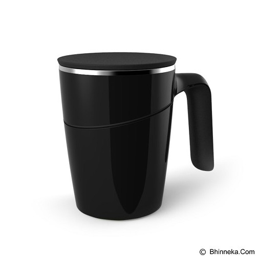 LACARLA Original ArtiArt Spill Free Mug Grace Suction Mug 470ml [DRIN002S] - Black (Merchant) - Gelas