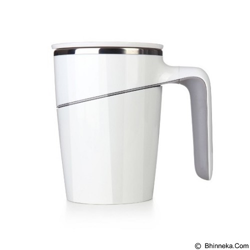 LACARLA Original ArtiArt Spill Free Mug Grace Suction Mug 470ml [DRIN002S] - White (Merchant) - Gelas
