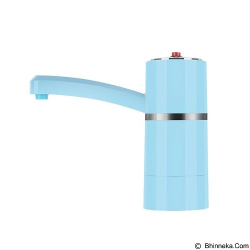 LACARLA Rechargable Electric Water Dispenser Pump [WA-S40] - Blue (Merchant) - Pompa Galon Air Mineral