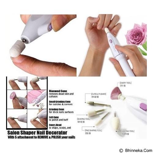 LACARLA Salon Shaper 5 in 1 Manicure Pedicure Nail Trimming Kit (Merchant) - Perawatan Tangan dan Kuku