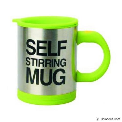 LACARLA Self Stirring Mug - Green - Dump Perlatan Dapur