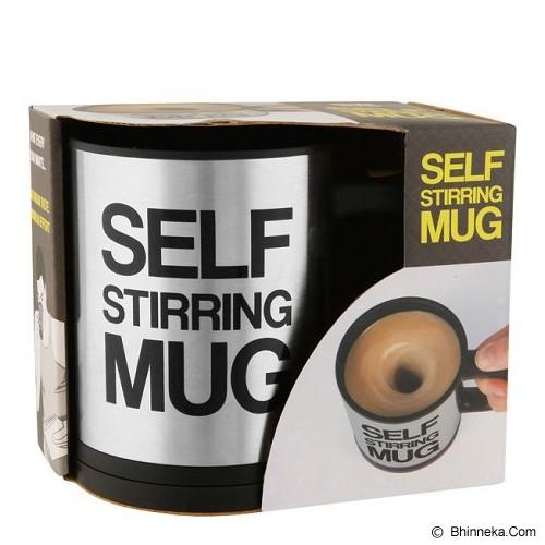 LACARLA Self Stirring Mug - Yellow - Dump Perlatan Dapur