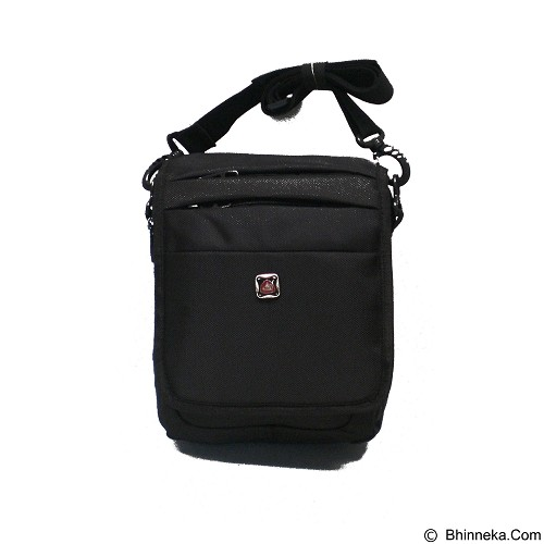 LACARLA Shicata Tas Gaul Tablet [4-2794] - Black - Shoulder Bag Pria