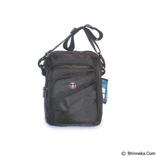 LACARLA Shicata Tas Gaul Tablet [4-2924] - Black - Shoulder Bag Pria