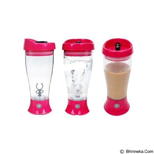 LACARLA Skinny Self Stirring Mug - Red - Botol Minum
