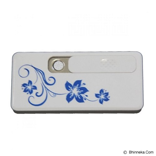 LACARLA USB Electric Lighter - White - Korek Api/Lighter