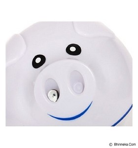 LACARLA USB Pig Humidifier Air Purifier Bentuk Kepala Babi - White - Air Humidifier