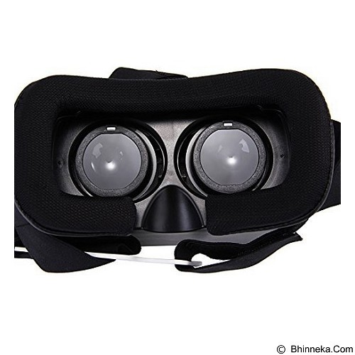 LACARLA Virtual Reality VR BOX 2 Enhanced Version Cardboard 3D Glasses with Bluetooth Remote (Merchant) - Gadget Activity Device