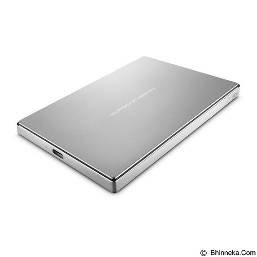 LACIE Porsche Design Mobile Drive USB 3.1 Type C 1TB [STFD1000402] - Silver - Hard Disk External 2.5 Inch