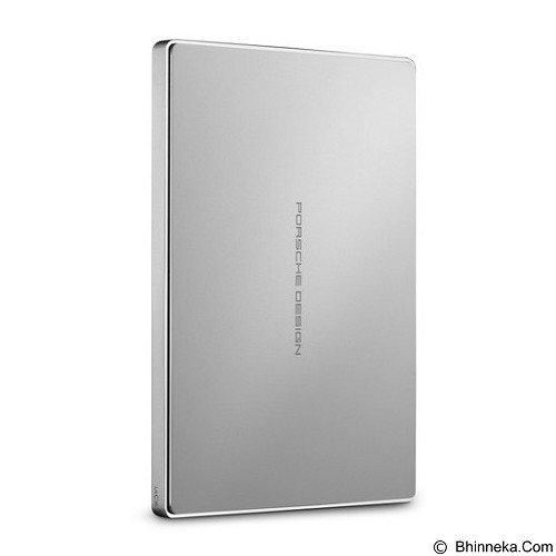 LACIE Porsche Design Mobile Drive USB 3.1 Type C 2TB [STFD2000402] - Silver - Hard Disk External 2.5 Inch