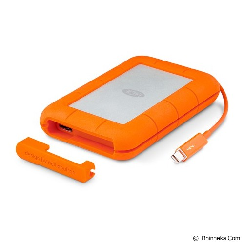LACIE Rugged Thunderbolt USB 3.0 1TB [STEV1000400] - Hard Disk External 3.5 Inch