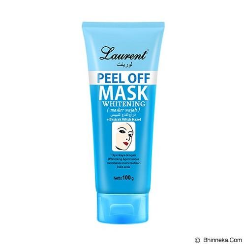LAURENT Peel Off Mask Whitening 100g - Masker Wajah