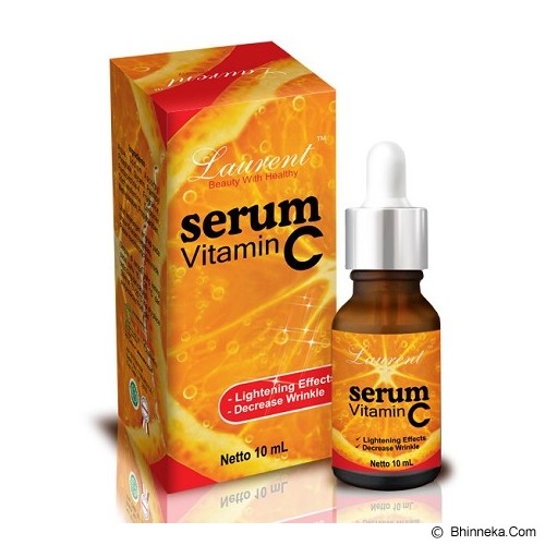LAURENT Serum Vitamin C 10ml - Serum Wajah
