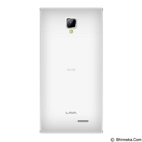 LAVA Iris 750 - White (Merchant) - Smart Phone Android