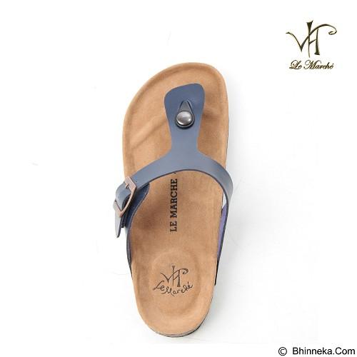 LE MARCHE Sandal Montpellier Size 41 - Navy Blue (Merchant) - Sandal Casual Pria