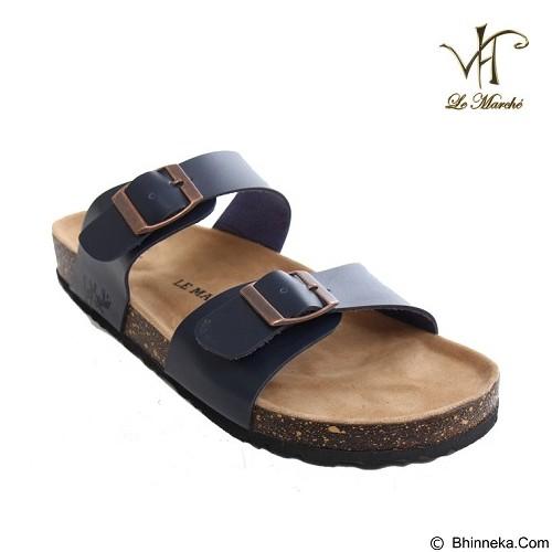 LE MARCHE Sandal Nantes Size 42 - Dark Blue (Merchant) - Sandal Casual Pria