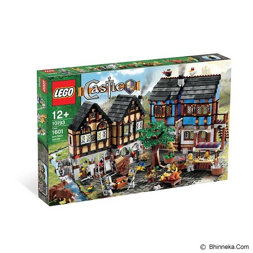 LEGO Castle Fantasy Era Medieval Market Village [10193] - Building Set Fantasy / Sci-Fi