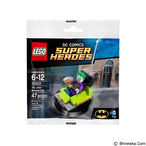 LEGO DC Super Heroes The Joker Bumper [30303] (Merchant) - Building Set Movie