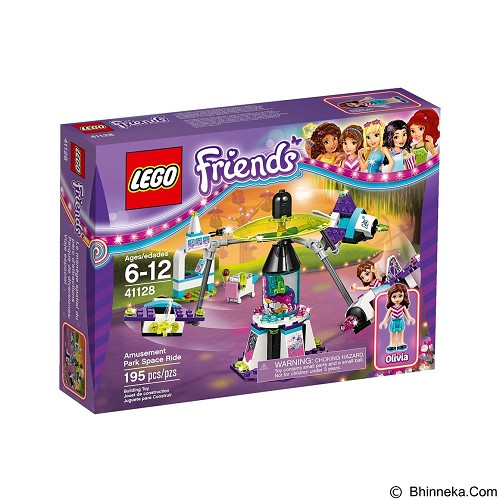 LEGO Friends Amusement Park Space Ride [41128] (Merchant) - Building Set Fantasy / Sci-Fi