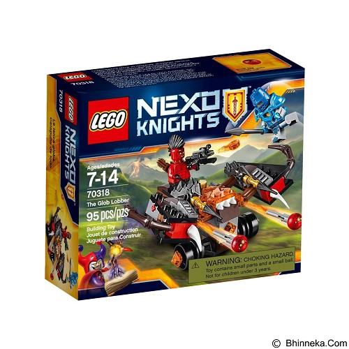 LEGO Nexo Knights The Glob Gobbler [70318] (Merchant) - Building Set Movie