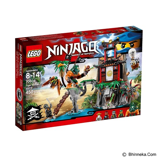 LEGO Ninjago Tiger Widow Island [70604] - Building Set Movie
